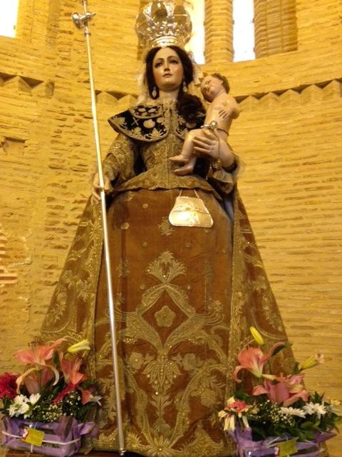 Virgin for pilgrims